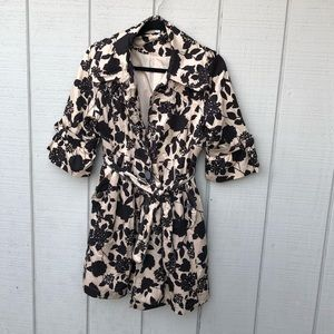 Lucca couture fancy floral coat/outerwear